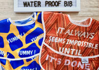 African print Waterproof bib / アフリカンプリントお食事用エプロン[撥水加工]2枚セット
