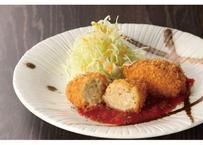 【山陰郷土料理かば米子駅前店】境港産ズワイガニ かに味噌クリームコロッケ