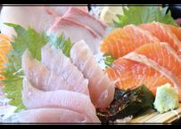 【山陰郷土料理かば米子駅前店】お刺身六種盛り(3人前)