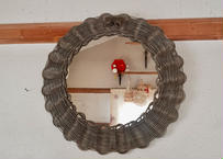 ribbon mirror  (large size)   gray