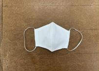 MA004 白 二層立体型マスクポリエステル綿 10枚入り