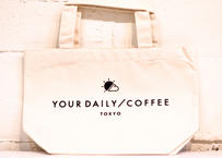 YOUR DAILY COFFEE オリジナルミニトート ホワイト