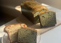 静岡の濃~い抹茶とゆずのパウンドケーキ
