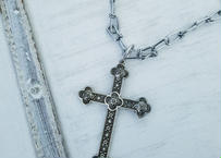 SIL CROSS CHAIN NECK