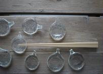 がらすやOQU 箸置き 水紋