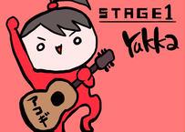 「STAGE1」【赤】(6曲入りアコースティックCD)