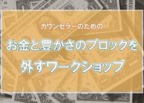 【DVD】加納敏彦氏 カウンセラーの為のお金と豊かさのブロックを外すワークショップ ※パソコンでのみ再生可(DVDプレーヤーの場合、音飛びの可能性があります)