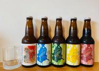 1月おすすめビール5種類&ハーフグラスセット