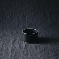 HASAMI PORCELAIN Suger Pot Black