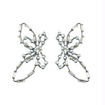 filigree flower pierces/earrings