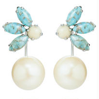 TROPIC 2way pierce pearl