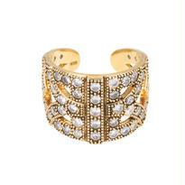 ARABESQUE silver ring