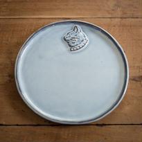 ある猫の肖像のプレート 20センチ