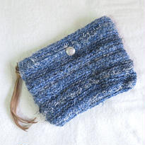denim clutchbag