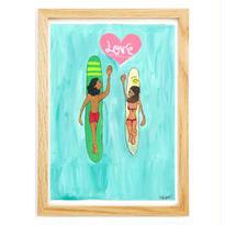 043 Lovesurf    A4size