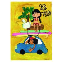 009 go to trip postcard