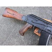 受注 次世代AKシリーズ用ノーマルウッドグリップ製作
