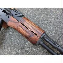 受注 次世代AKS74N用ノーマルウッドハンドガード製作
