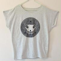 【レディースTシャツ】ビションフリーゼ