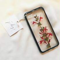 フローラル i phone 6/6S case  (ブラック)⑨