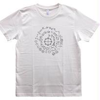 【Tシャツ】カタカムナ コットン生地 麻炭インク50%/テラヘルツインク50%