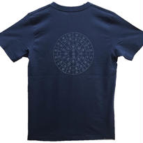 【Tシャツ】ふとまに1 コットン生地 紺 テラヘルツインク100%