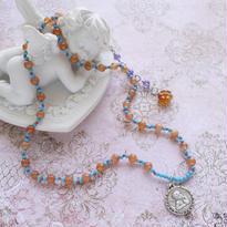 サクレクール寺院 天使のチャームネックレス(12周年記念)mn-2402