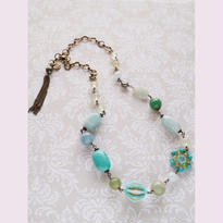 le jardin secret blueネックレスn-1601b