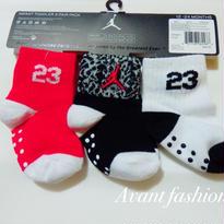 子供用3枚セット jordan 3 pair pack socks