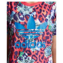 激レア!adidas レオパード Tシャツ