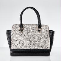 再入荷! Croco Handbag / Dalmatian Dog Color