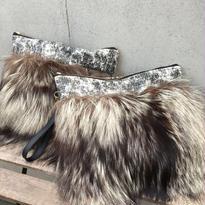 Precious fur clutch-reproduction MIX(プレシャスファークラッチバッグ リプロダクション ミックス