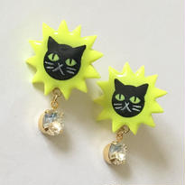 YELLOW JAG BLACK CAT ピアス