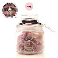 【4月:ダイヤモンド】BIRTHDAY STONE SOAP ARGAN 【ローズの香り】¥3,800+税