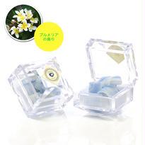 【携帯用 10枚入 プルメリアの香り】BIRTHDAY STONE SOAP MRINE ¥1,500+税
