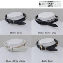 BI COLOR leather D choker