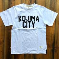 KOJIMA CITY PRINT T-SHIRT 【WHITE】/ BS-CS1-01
