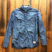 CHAMBRAY SHIRT USED 【IND】 / BS17AW-SH02