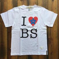 I ♡ BS PRINT T-SHIRT 【WHITE】/ BS-CS1-02