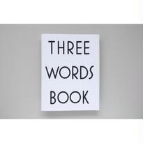 新『THREE WORDS BOOK』