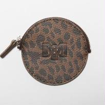 BxH Leopard Circle Coin Case