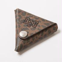 BxH Leopard Triangle Coin Case