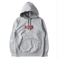 M/L/LL/XLLサイズ★Supreme Box Logo Hooded Sweatshirt ボックス 灰