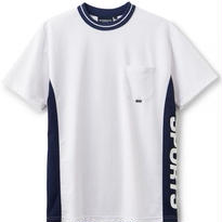 【INTERBREED】IB SPORTS DIVIDED SS TEE(WHITE)
