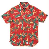 "【APPLEBUM】""Tony Montana"" Fly Front SS Shirt [Red]"
