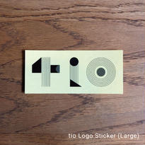 tio - Logo Sticker (Large)