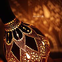 ひょうたんランプ--ジンオウガの鱗