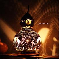 ひょうたんランプ--オオロラの森