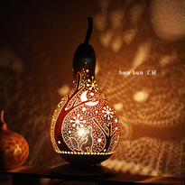 ひょうたんランプ--ー北欧の冬の夜