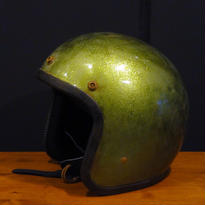 CAMPBELL HELMETS CH504-FLAKE/GREEN (Vintage)